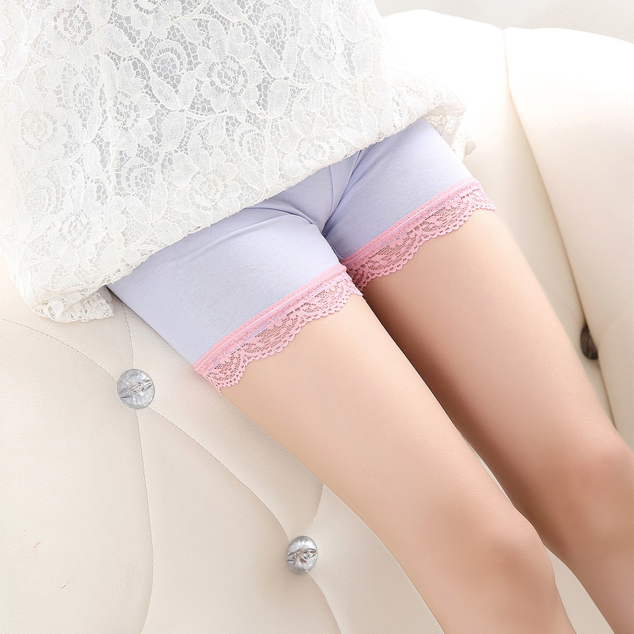 Lots 3 Per piece SheeCute New Arrival summer clothing girls candy color Lace   shorts   kids lovely Safety pants 4033