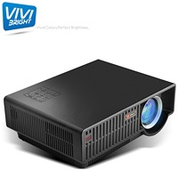 D bright projector c90 mountain HD video projector led light efficiency maximum available during the day