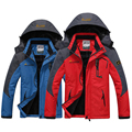 Free Shipping 2016 New Autumn Winter Mens Jackets Warm Coat Waterproof Fitness Breathable Casual Mens Jacket