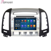 Quad Core Android 5.1 Car DVD For HYUNDAI SANTA FE 2006 2007 2008 2009 2010 2011 2012 With 16GB Flash Wifi BT Free Map GPS