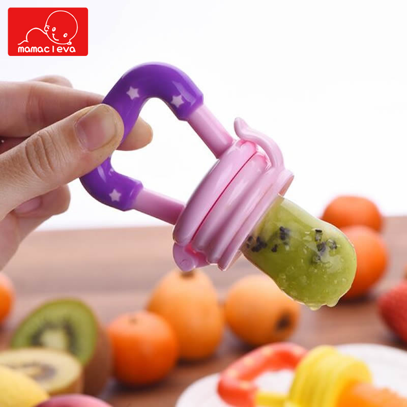 Infant Food Nipple Feeder Silicone Pacifier Fruits Mills Infant Learn Food Feeding Supplies Soother Nipples Pacifier Tool