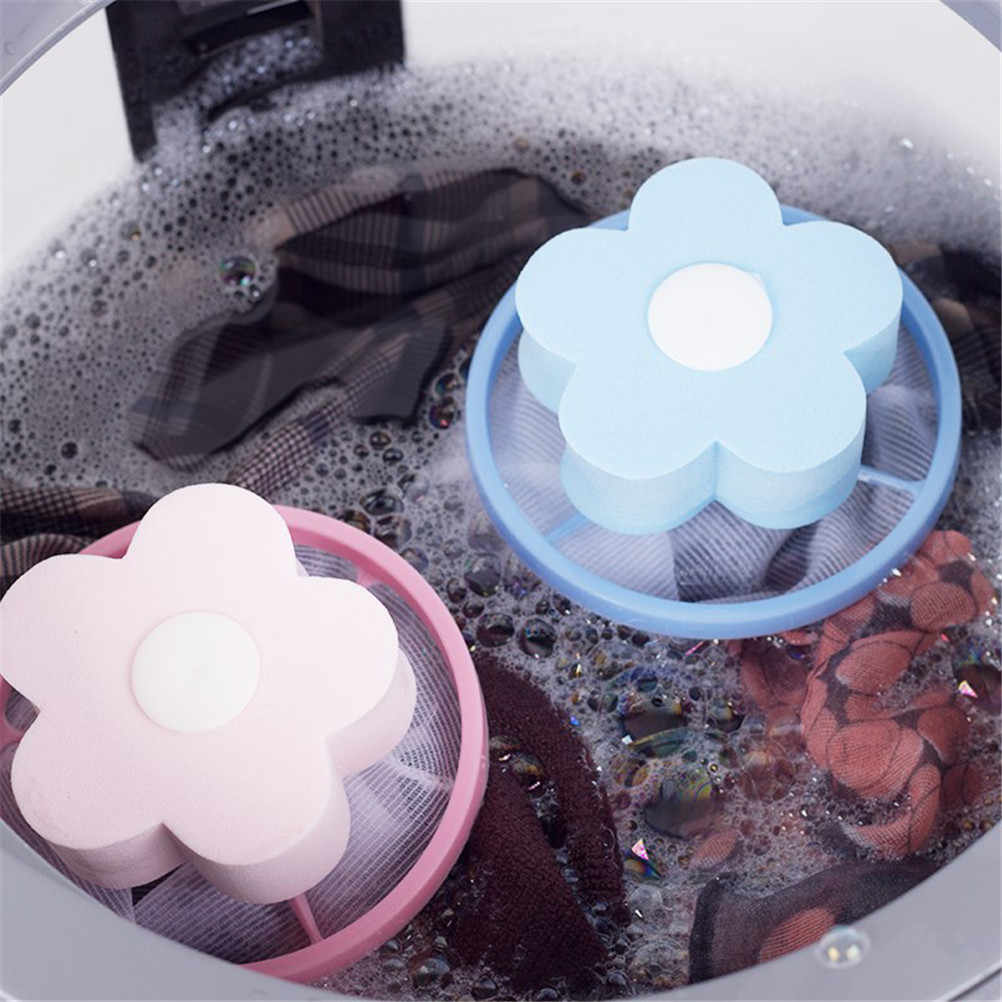 1pc Cleaning Bathroom Products Filter Bag Mesh Filtering Hair Removal Stoppers Catchers Device Washer Laundry