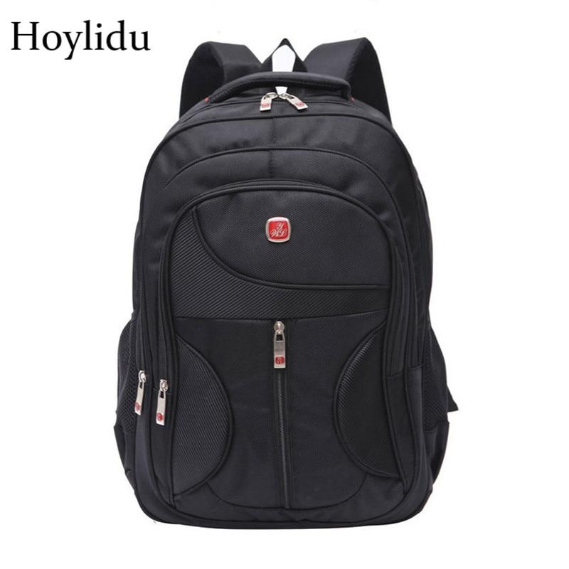 47ff75e81d44 ... Men 15-inch Laptop Backpacks Waterproof Nylon Large Capacity Backpack  Anti-theft Bagpack Casual Travel School Bags For Teenager
