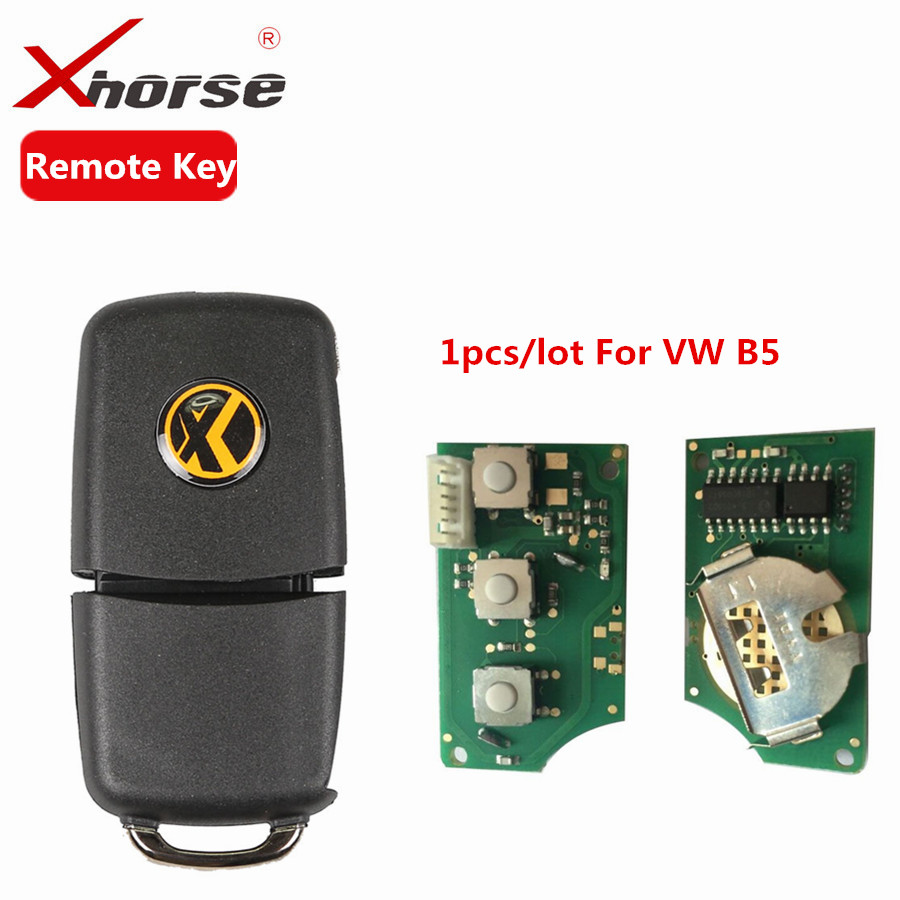 X001-01 Xhorse For V-W Remote Key Chip Shell 3 Buttons Board For B5 Type VVDI2 Mini Auto Remote Programmer