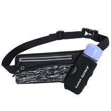 Running Marathon Waist Bag Sports Climbing Hiking Racing Gym Fitness Lightweight Hydration Belt Water Bottle Hip Waist Pack недорого