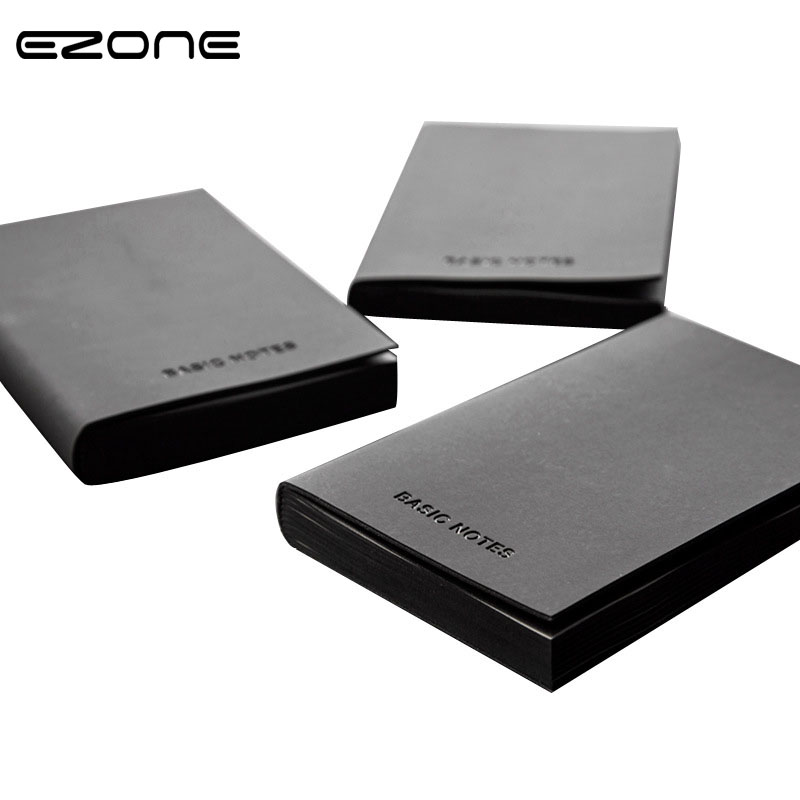 EZONE A5/A7 Black PU Leather Note Book Blank/Line Pages Journal Planner Vintage Mini Diary Notepad Pirate Notebook Agenda Gifts 28 32pcs per set iq metal puzzle mind brain teaser magic wire puzzles game toys for children adults kids