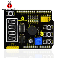 Free shipping !keyestudio Multi-purpose shield V2 for arduino starter