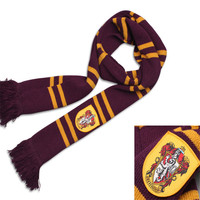Free Delivery Cosplay Harri Potter Schal Schals Gryffindor Slytherin Hufflepuff Ravenclaw Schal Schals Fashion Scarf