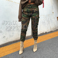 High Quality Motorcycle Camouflage Pants Women Motorbike Trousers Waterproof Womens Motorcycle Army Green Pants