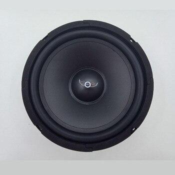400 W 4Ohm Schwarz Auto Mitten Audio Lauter Universal Lautsprecher Stahl I SCHLÜSSEL KAUFEN 8 Zoll Tieftöner Automobil Russische Subwoofer