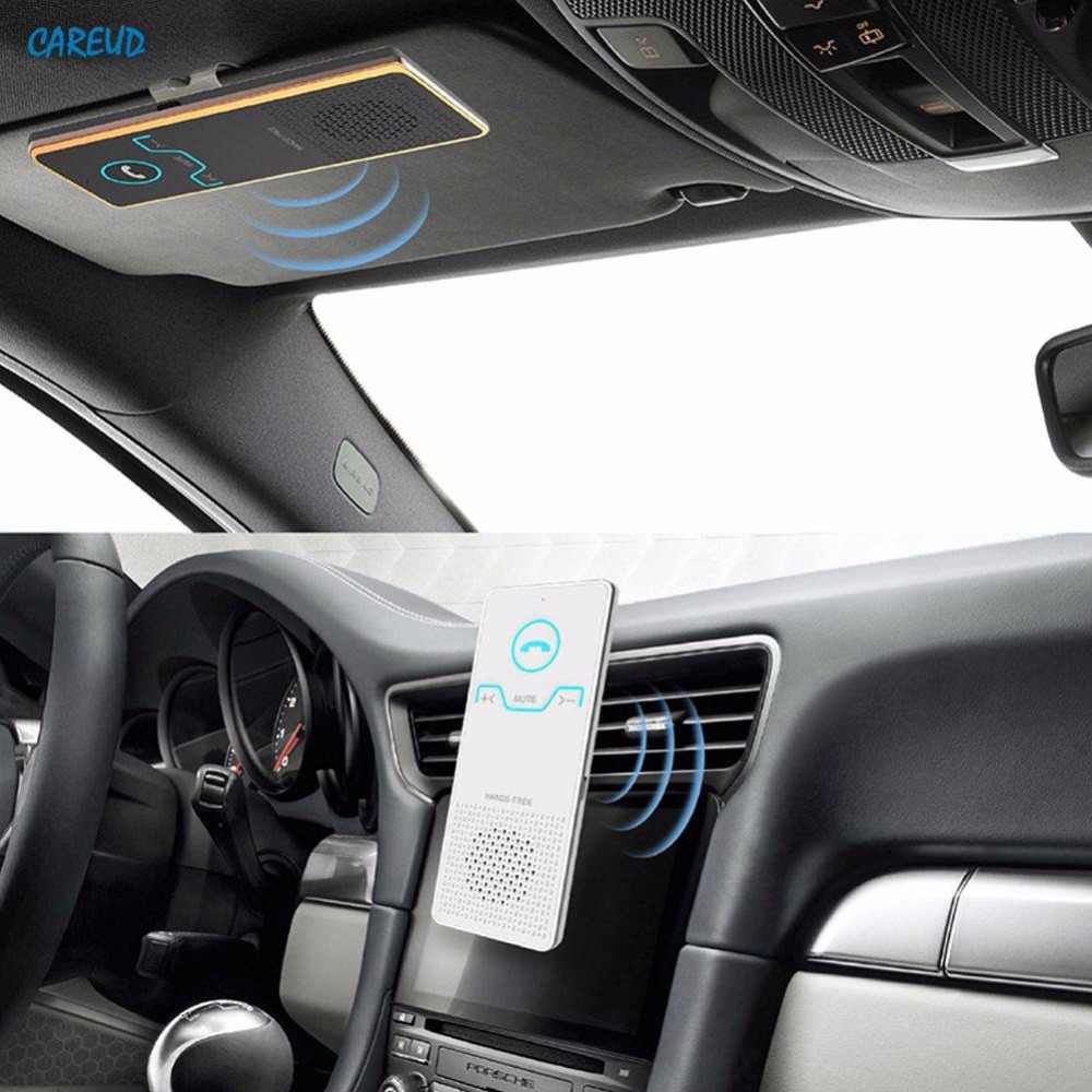 4Pcs/set Wireless Handsfree Bluetooth Car Kit Car Visor Bluetooth Handsfree Phone Call Number Bluetooth Music Player