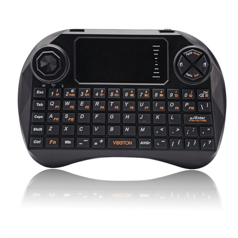 pcs QWERTY Mini GHz Fly Air Mouse Wireless Keyboard with Touchpad gaming