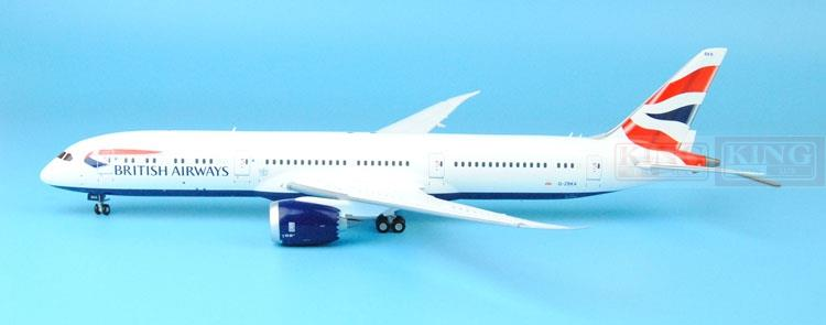 GeminiJets British Airways G-ZBKA G2BAW544 1:200 B787-9 commercial jetliners plane model hobby