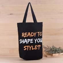 Готовы к форме вашего стиля? Сумка тоут из хлопка с логотипом