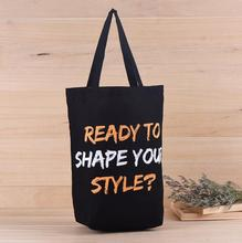 READY TO SHAPE YOUR STYLE ? Customized Logo Tote Bag Cotton, Backpack Canvas  Shopping Bags , Free Shipping