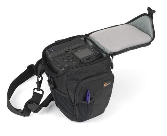 Lowepro Toploader Pro 70 AW Digital SLR Camera Triangle Shoulder Bag Rain Cover Portable Waist Case Holster For Canon Nikon 1