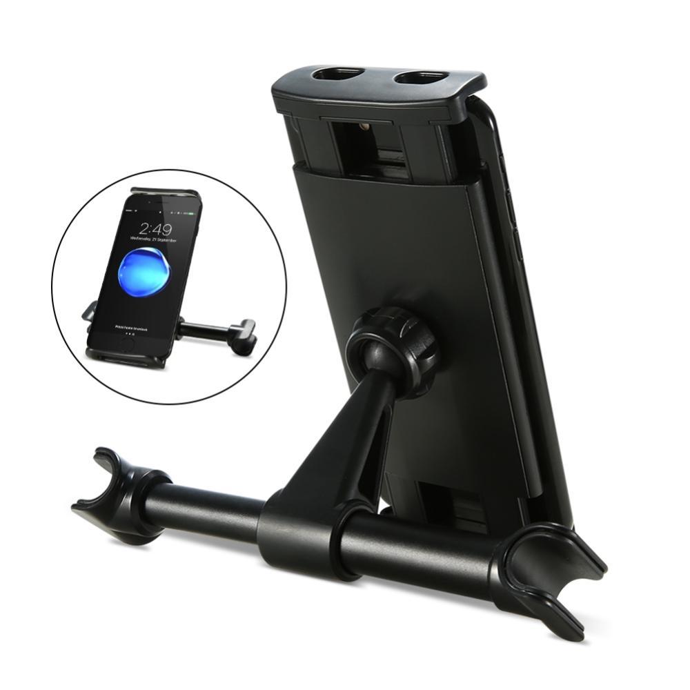 360 Grad Rotation Auto Zurück Sitz Telefon Tablet Pc Halter Auto Halterung Kopfstütze Halterung Ständer Handy Halter