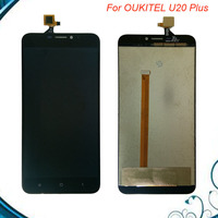 For Oukitel U20 Plus LCD Display Touch Screen 100 Tested LCD Digitizer Glass Panel Replacement For