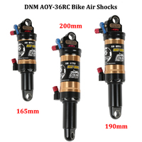 DNM AOY 36RC Mountain Bike Air Shock MTB Lockout Shock AM And XC Bicycle Rear Shock 165mm 190mm 200mm