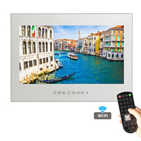 Free Shipping 19 Inch WiFi HDMI Full HD 1080P Smart Waterproof Android Mirror TV