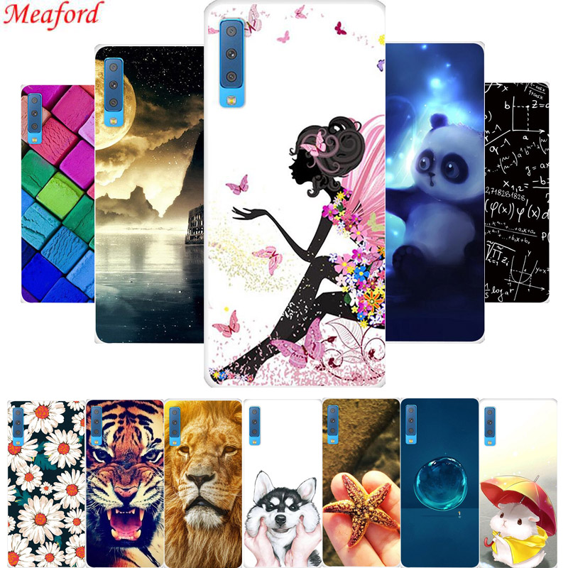 Izyeky Case For Samsung Galaxy A7 2017 Lovely Cartoon Starry Sky Moon Soft Tpu Cover For Samsung A7 2017 Coque A7 2017 A720f Cellphones & Telecommunications