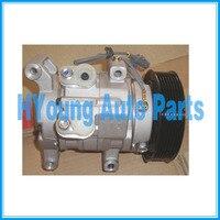 KUN16R & KUN26R ar compressor auto ac para Toyota Hilux 2001 2006 10S11C 88320 0K080 2021810AM 447180 7201|Compressor e embreagem AC| |  -