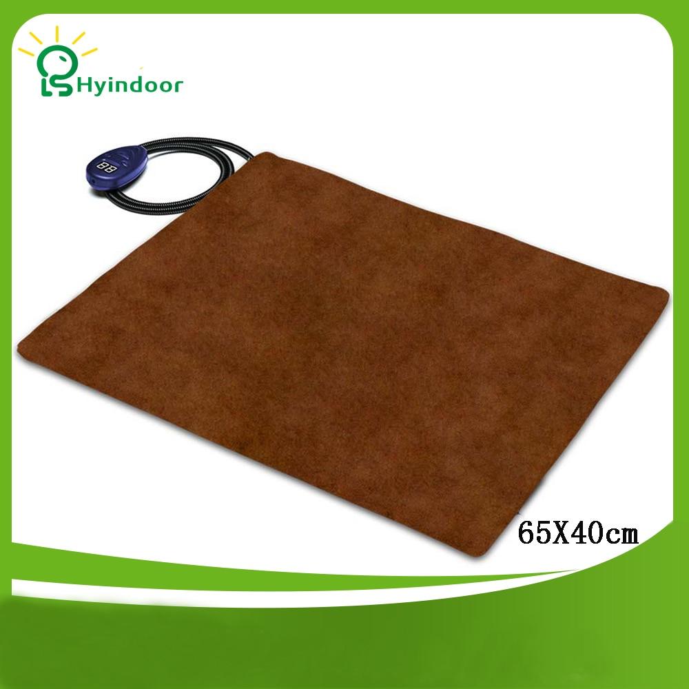 12 V 65*40 cm auto chauffage élément DC charge électrique coussin chauffant tapis chien chat Pet lit hiver plus chaud couverture chauffante