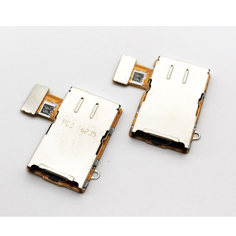 New SIM Card Reader Holder Slot Flex Cable For MOTO G5 Plus