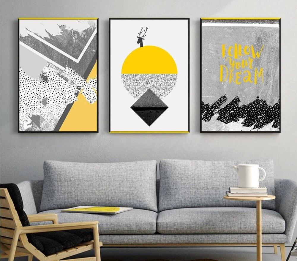 US $1.92 |Poster e Stampe Su Tela Pittura Murale Foto Parete Per Soggiorno  Nordic In Marmo di Colore Photo Decorazione-in Pittura e calligrafia da ...