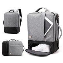 Chống Trộm Ba Lô Nữ Nam Laptop Bagpack 15.6 USB Sạc Nam Xách Tay Lưng Du Lịch Học Mochila Nam Màu Đen của Túi