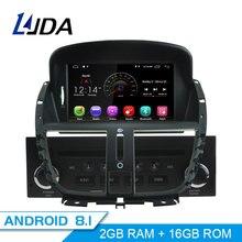 LJDA Android 8,1 1 Дин радио для peugeot 207 2007-2011 2012 2013 2014 Автомобильный мультимедийный плеер стерео gps навигации DVD ips SD