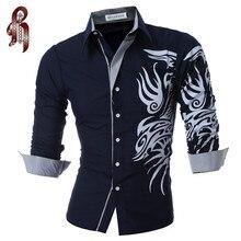 Мужская рубашка HEYKESON 2017 4XL