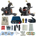 tattoo complete tattoo kit power supply+poot pedal+2 alloy grips+accessories 1100242kitB