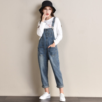 Lguc.H Large Size Women Jeans Loose Boyfriend Jeans Woman Plus Size Denim Overalls Female Street Wear Womens Clothes 4xl,5xl,6XL plus size women in overalls