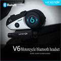 Vimoto Brand V6 Motorcycle Multi-functional Bluetooth helmet Bluetooth headset Waterproof For Moto Intercom GPS Mobile Phone