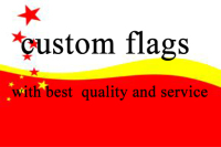 Custom Good Quality Flag With Any Size Color Logo Banner Brass Metal Holes