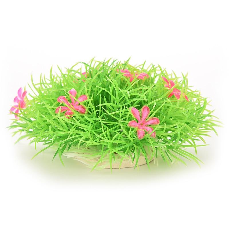 Pet Supplies Sweet-Tempered Decoration Plant Decor Weeds Ornament Aquarium Tank Plastic Fish Grass Water