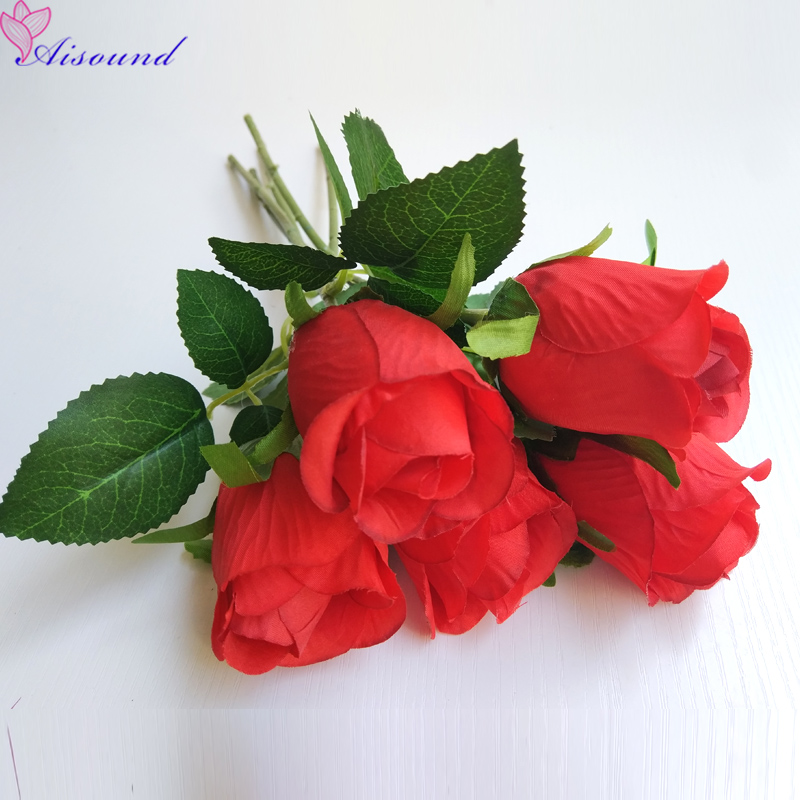Health & Beauty Other Mobility & Disability Artificial Red Rose Flower Wedding Bridal Bouquet Valentines Day Or Birthday Propose Party Magic Trick Props Home Decoration P3
