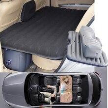Caliente los Viajes Offroad coche cama Inflable Inflable colchón colchón coche asiento sofá al aire libre espesar al aire libre (negro)