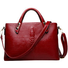 New Women Luxury Crocodile Bag Handbag Alligator Leather Female Shoulder Crossbody Bags Bolsa Feminina Sac A Main Neverfull 2016