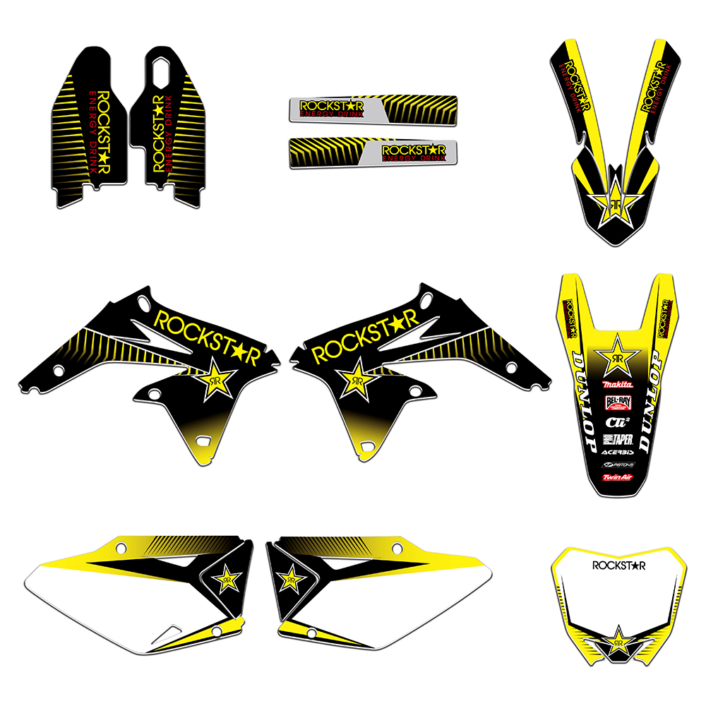 Motorcycle Graphics Decals Stickers For Suzuki RMZ450 RMZ 450 RM-Z 450 2008 2009 2010 2011 2012 2013 2014 2015 2016 2017Motorcycle Graphics Decals Stickers For Suzuki RMZ450 RMZ 450 RM-Z 450 2008 2009 2010 2011 2012 2013 2014 2015 2016 2017