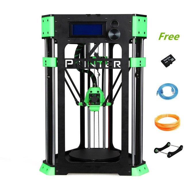 Sunhokey High Quality Strong Frame 130mm*130mm Printing size Mini Delta D130 DIY 3D Printer Kit Delta For School/Kids