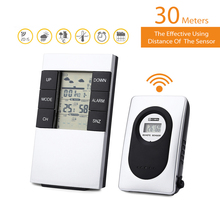 Wholesale prices Wireless Weather Station Alarm Clock Indoor Outdoor Temperature Sensor Measurement Thermometer Humidity Meter 433MHz