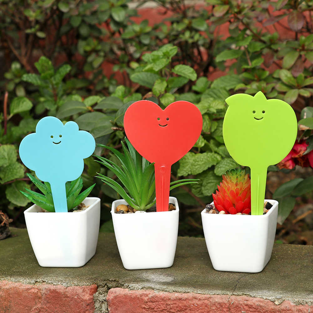 20Pcs Garden Plant Labels Plastic Plant Tags Markers Nursery Pots Garden Decoration Seedling Tray Mark Sign Classification Tools