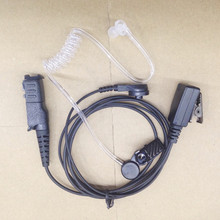honghuismart Clear Air Tube Clmap PTT headset earhook for motorola EDP550,EDP570,XIR P6600,P6608,P6620,E8600 etc walkie talkie