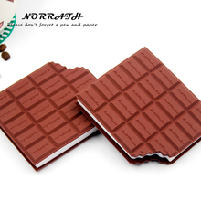 NORRATH Kawaii Cute Stationery Convenient Notebook Chocolate Memo Pad Post It Office School Gift Supplies Notepad