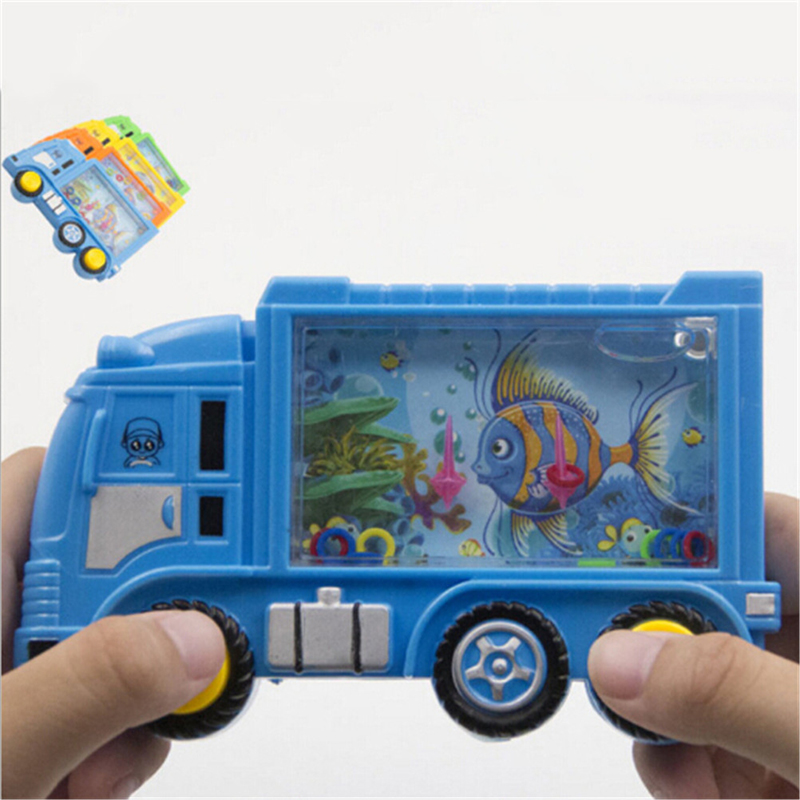 Truck Style Water Ring Game Water Machine Baby Kids Learning Children Educational Toys Kids Phones Learning Toy Random