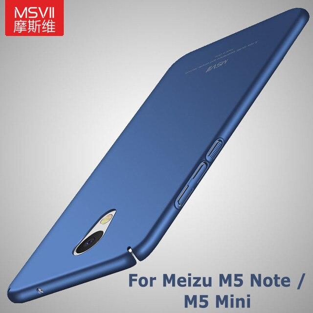 uk availability 8e77b 8e393 US $3.99 20% OFF|Meizu m5 Case Cover Msvii Brand Meizu M5 Note 5 Case  Luxury Silm Scrub Cover Meizu M5 Mini Back Cover For Meizu M5 Note5  Cases-in ...