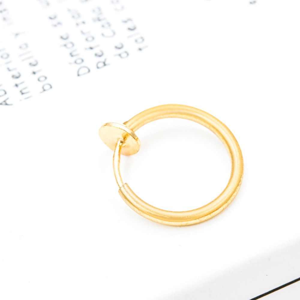 Stylish Ear Cuff Single Pierced Nose Ring Wrap Clip Without Puncture Jewelry Clip on Earring Fake Piercing Earcuff Female 2019
