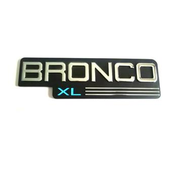 ABS BRONCO XL Auto Emblem Badge Sticker Embleme
